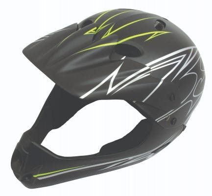 ETC BMX Full Face Youth Helmet Matt Finish 54 / 58cm