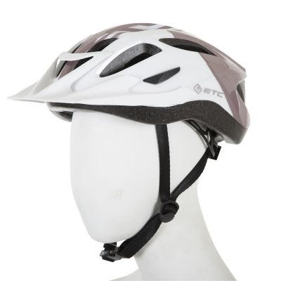 ETC L630 Adult Leisure Helmet White/Gold 53cm-58cm