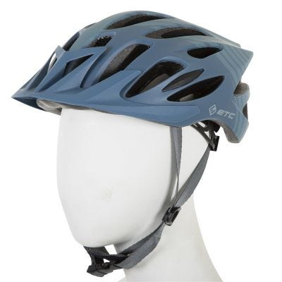 ETC M710 Adult MTB Helmet Blue/Grey 58cm-61cm