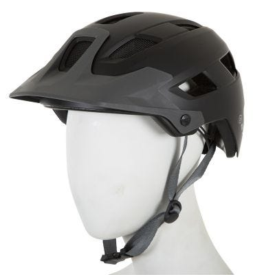 ETC M810 Adult MTB Helmet Black/Grey 53cm-59cm
