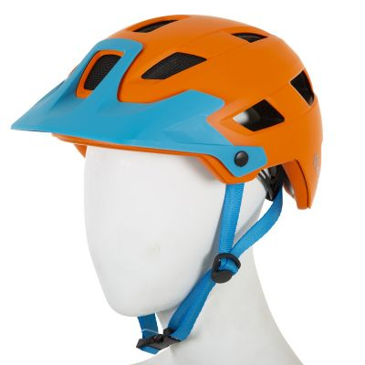 ETC M810 Adult MTB Helmet Orange/Blue 53cm-59cm