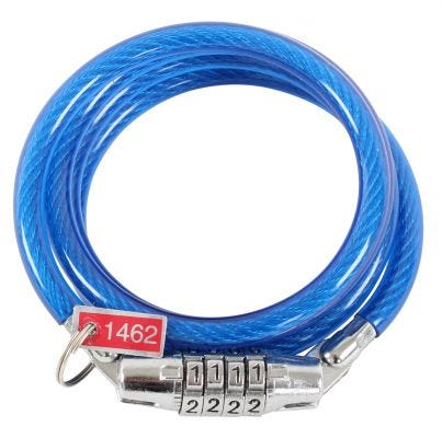 ETC Coil Cable Lock Combination 1000 x 8mm
