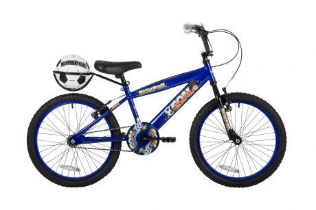 Bumper Goal Pavement Bike Blue