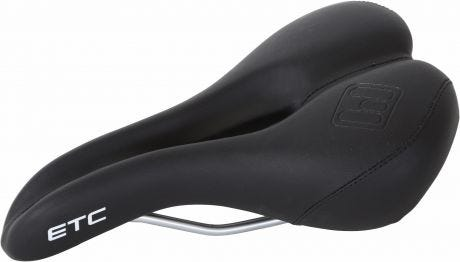 ETC Mens Black Sports Saddle