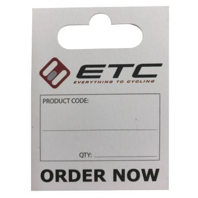 ETC Stock Replenishment Card (x20)