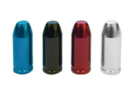 ETC Bullets Valve Caps Schraeder Blue