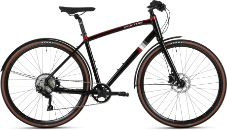 Forme Repton 1 Hybrid Bike Black