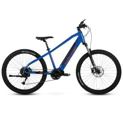 "Forme Curbar HTE Pro Blue/Orange 27.5"" Mountain E-Bike"