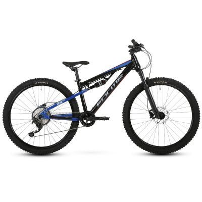"Forme Black Rocks Junior Full Suspension 26"" Black/Red/Blue"