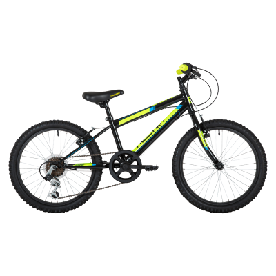 "Freespirit Scar Junior 20"" MTB Bike Black/Yellow"