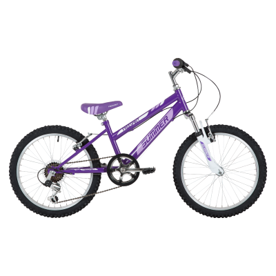 "Freespirit Summer Junior 20"" MTB Bike Purple"