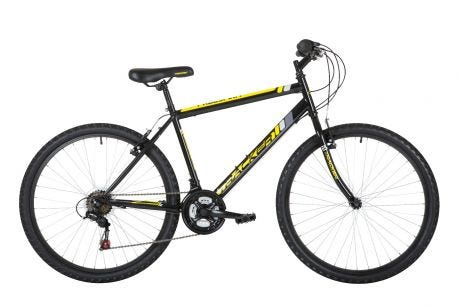 Freespirit Tracker MTB Bike Black/Yellow