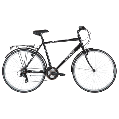 Freespirit Trekker Hybrid Bike Black