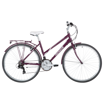 Freespirit Trekker Hybrid Bike Purple
