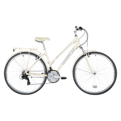 Freespirit Trekker Hybrid Bike Cream