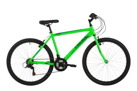 Freespirit Tread Mens MTB Bike Neon Green