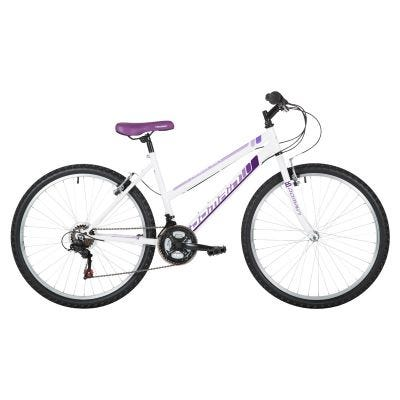 "Freespirit Domain 18"" MTB Bike 26"" White/Purple"