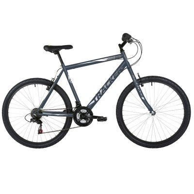 "Freespirit Tracker 14"" 26"" Wheel Mens MTB Style Bike Blue/Grey"