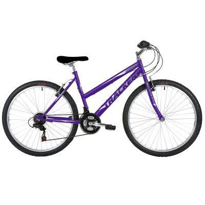 "Freespirit Tracker 18"" 26"" Wheel Womens MTB Style Bike Purple/Grey"
