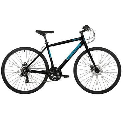 Freespirit District 700c Wheel Mens Sports Hybrid Bike Black/Blue