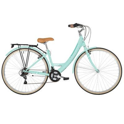 "Freespirit Discover 16"" 700c Wheel Womens Comfort Hybrid Bike Mint"