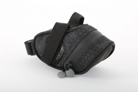 Forme Water Resistant Saddle Bag Small Black