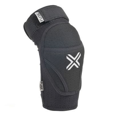 Fuse Alpha Elbow Pads Black | Angle