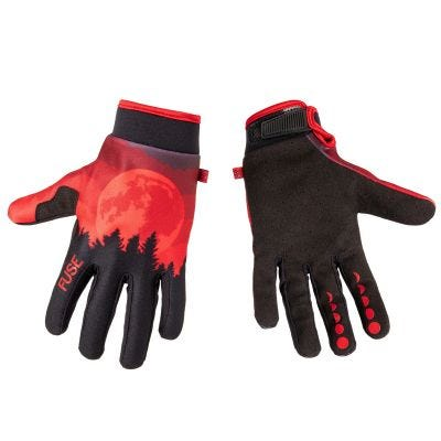 Fuse Chroma Gloves Blood Moon Red | Pair
