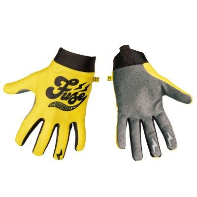 Fuse Omega Cafe Yellow Gloves
