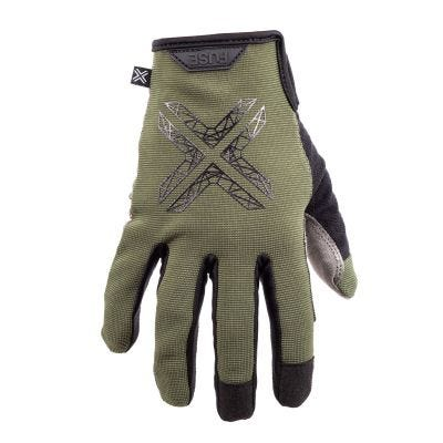 Fuse Stealth Gloves Olive | Front Right