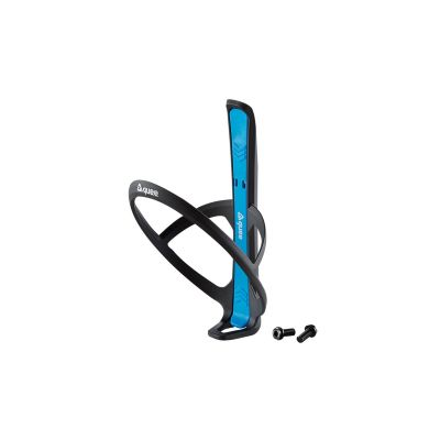 guee Qing+ Bottle Cage with Integrated Tyre Lever Black/Blue