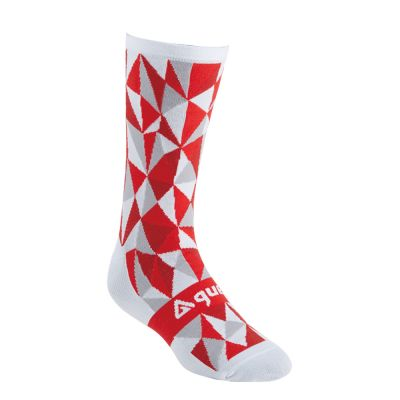 guee Racefit Socks White/Red