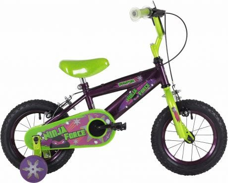 "Bumper Ninja 12"" Boys Bike"
