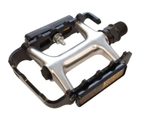 ETC Alloy Cromo Sealed MTB Pedals Black 9/16""