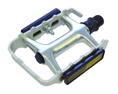 ETC Alloy Cromo Sealed MTB Pedals Silver 9/16""
