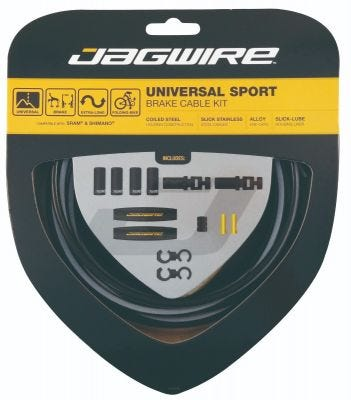 Jagwire Brake Kit Universal Sport Black