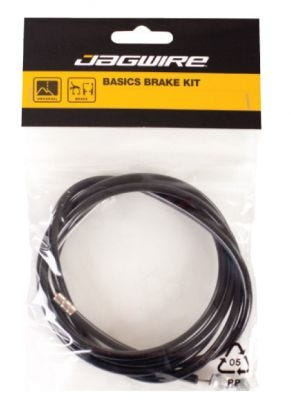Jagwire Brake Cable Universal Rear Black (x10)