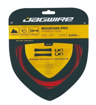Jagwire Pro Hydraulic Hose Kit Red 3m