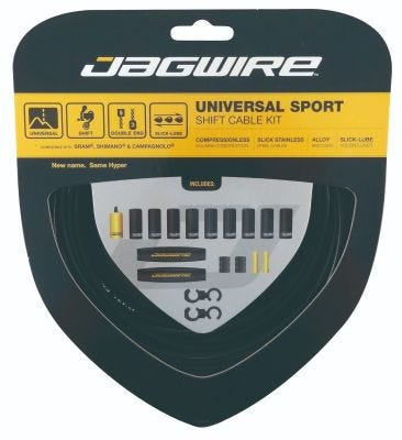 Jagwire Gear Kit Universal Sport Black
