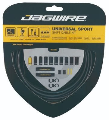 Jagwire Kit Universal Sport Gear Ice Grey