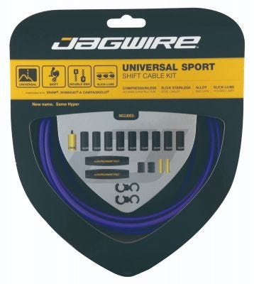 Jagwire Kit Universal Sport Gear Purple