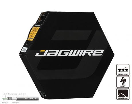 Jagwire Sport Shift Gear Housing LEX 4mm x50m with Slick-Lube White
