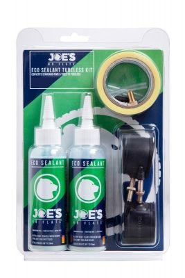 Joe's No Flats Eco Sealant Tubeless Conversion Kit - All Mountain FV