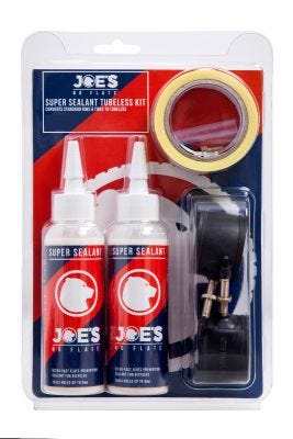 Joe's No Flats Super Sealant Tubeless Conversion Kit - XC Narrow FV