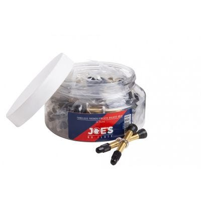 Joe's No Flats 40mm French Valves (x20 pairs)