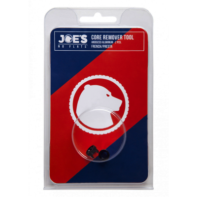Joe's No Flats 2 Presta Core Remorer Tools Black