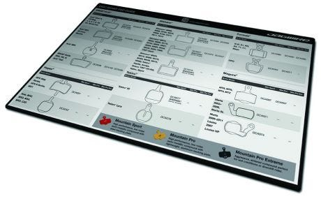 Jagwire Disc Pad Counter Mat