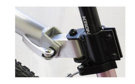 Barracuda Trail Buddy Quick Release Hitch