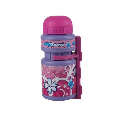 Kidzamo Bottle and Cage Pink Flowers
