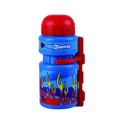 Kidzamo Bottle and Cage Red Flames
